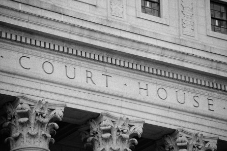 Court House as found in many traffic ticket cases
